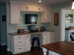 Cream Kitchen Cabinets With Blue Walls H G General Services Kitchen And Cabinets