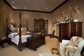 Safari Decorating Ideas For Living Room Safari Master Bedroom Decorating African Themed Living Room