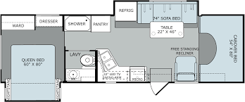 rv class c floor plans 100 rv class c floor plans 2010 four winds chateau 28a