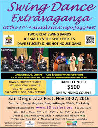 times with jazz and swing at the san diego jazz