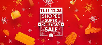christmas sale check out the shopee christmas sale 2017 from nov 11 to dec