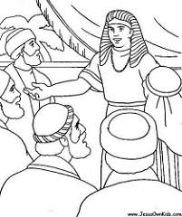joseph egypt coloring pages
