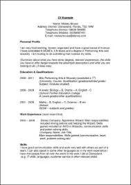 structure of a resume resume ideas