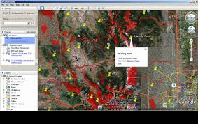 Colorado Public Land Map by Map Scouting With Google Earth Colorado Hunting Data Youtube