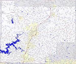 Georgia Road Map Bridgehunter Com Cherokee County Georgia