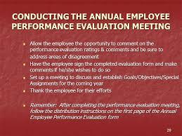 the university of alabama annual employee performance evaluation