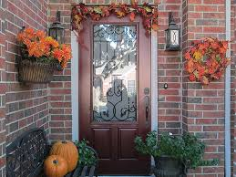 Halloween Lawn Ornaments Exterior Ideas Of Fall Outdoor Decorating From Halloween To