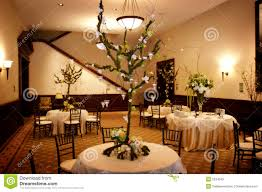 wedding reception tables table setting at a luxury wedding reception royalty free stock