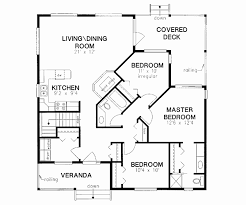 house plans no garage four square house plans with garage best of 3 bedroom house plans no