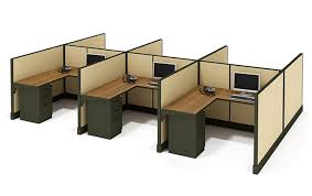 Office Cubicle Desk 5x5 Cubicles Ec 04 Freedman S Office Furniture