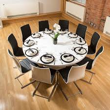 Round To Oval Mahogany Dining Table With Leaves Gallery And Tables - Black dining table for 10