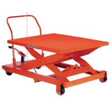 Pallet Lift Table by Manual Lift Tables Manual Scissor Lift Tables Cherry U0027s