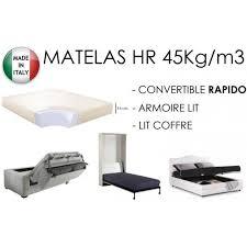 matelas de canapé convertible matelas épaisseur 14cm pour canapé convertible 3700732941721
