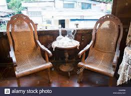 Rocking Chair Philippines Yap Sandiego Ancestral House 17th Century Cebu City Philippines