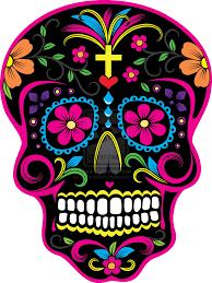halloween background sugar skulls dia de los muertos skulls dia de los muertos skull 2 by