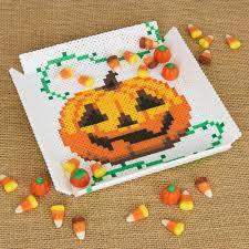 halloween candy dish perler