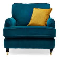 richmond armchair teal achica