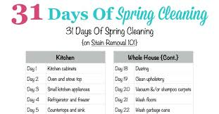 how to spring clean your house in a day 31 days of spring cleaning get the plan here