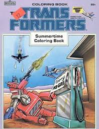 summertime coloring book transformers wiki