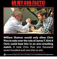 William Shatner Meme - on my god facts wwwomgfacts onlinecom i fbcomom g facts online i
