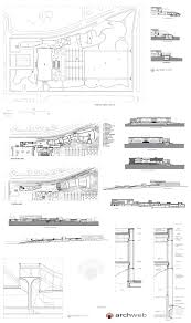 Villa Tugendhat Floor Plan by Nelson Atkins Museum Drawings Jpg 2400 4047 Dwg Pinterest