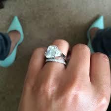 wedding ring and engagement ring wedding rings wedding ring trio sets jared engagement rings his