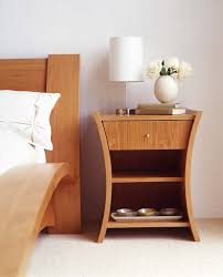 Small White Side Table by Unique Brown Solid Wood Bed Side Table With Shelf And Drawer