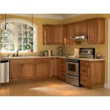 Cognac Kitchen Cabinets by Kitchen Cabinets Kitchen Ideas 149 Hampton Bay Hampton Assembled