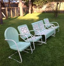Retro Patio Furniture Sets Awesome Vintage Metal Outdoor Furniture Images Liltigertoo
