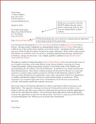 cover letter interest sample gallery letter samples format