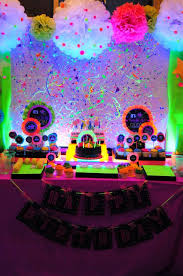 neon party ideas best 25 party ideas on party decorations