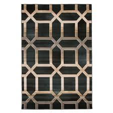Photo Art Deco Lavish Home Opus Art Deco Burgundy 8 Ft X 10 Ft Area Rug 62 30 R