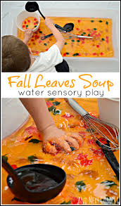 10 fall sensory play ideas sensory play fall leaves and soups
