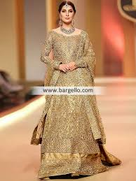 bridal wear walima bridal dresses shades of gold bridal dress wedding dresses