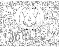 halloween coloring pages adults printables coloring