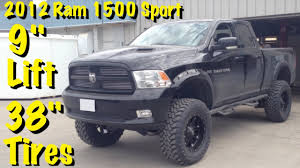 2012 dodge ram 1500 sport lifted 38 toyo s on lifted 2012 ram 1500 sport with 11 5 total lift
