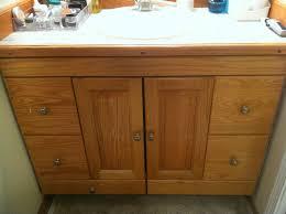 bathroom cabinets gorgeous oak handmade bathroom cabinets