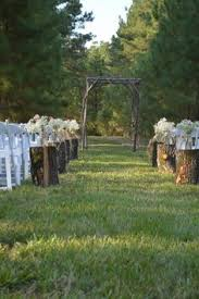 Wedding Arches Made From Trees Alter Trellis Made From Cut Trees And Limbs Josh U0026 Amber U0027s
