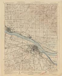Richmond Ky Map Kentucky Historical Topographic Maps Perry Castañeda Map