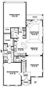 minimalist house plans narrow lot