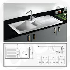Ceramic Kitchen Sinks Rak Ceramics Gourmet 1 5 Bowl Fireclay Inset Ceramic Kitchen Sink