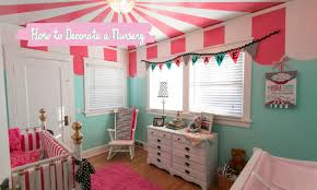 Decorate A Nursery How To Decorate A Nursery Mercier S Tips And Tricks