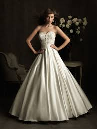 a line sweetheart ruched embroidery satin wedding dress on sale a