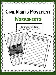 civil rights movement facts u0026 worksheets for kids teaching resource
