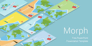 Morph Travel Free Download Powerpoint Templates For Presentation Free Power Point