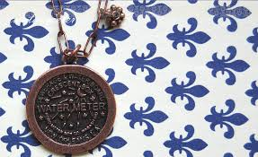 new orleans water meter jewelry water meter dejarnette new orleans jewelry and accessory design