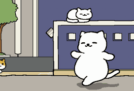 Meme Neko - tubbs goes for a walk neko atsume know your meme