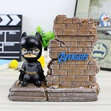 Batman Desk Accessories Yournelo Resin Dc Heroes Pen Pencil Holder Desk