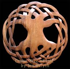 wooden celtic cross celtic tree of wood carved wall celtic studio