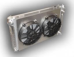 electric radiator fans and shrouds 1978 1988 monte carlo aluminum radiator dual fans aluminum shroud